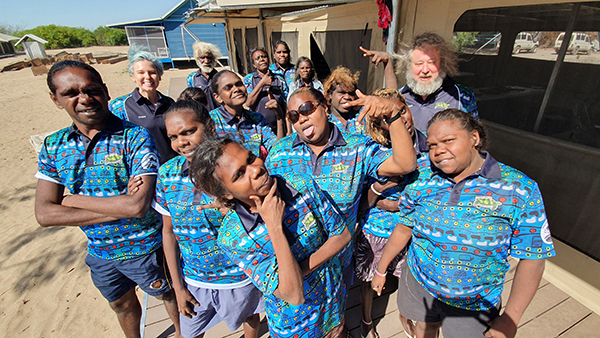 Wuyagiba Bush Hub students and leaders